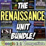 Renaissance Unit Bundle! 10 resources for Renaissance, Reformation, Explorers!