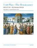 The Renaissance - Unit Plan