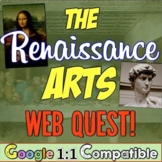 Renaissance Webquest:  An Art Exploration!  Da Vinci & Michelangelo!
