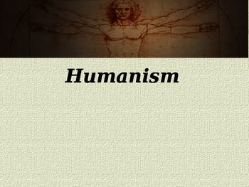 Day 044_The Renaissance and Humanism - PowerPoint