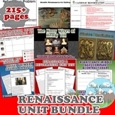 Renaissance Unit / Renaissance & Reformation *Unit Bundle* (World History)