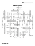 The Renaissance and Reformation Vocabulary Crossword for World History