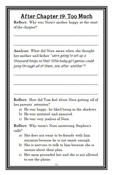 The Report Card (Andrew Clements) Novel Study / Reading Comprehension Unit