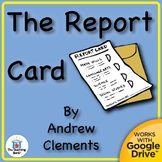 The Report Card Novel Study CD