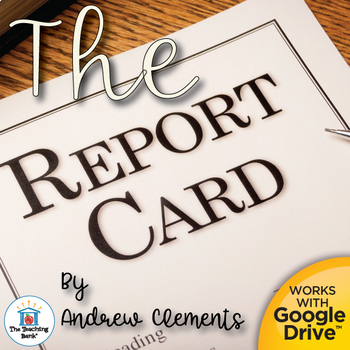 The Report Card Novel Study Book Unit