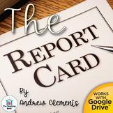 The Report Card Novel Study Book Unit