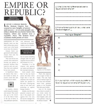 The Republic and Empire of Ancient Rome