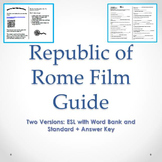 The Republic of Rome Film Guide