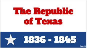 The Republic of Texas Digital Foldable