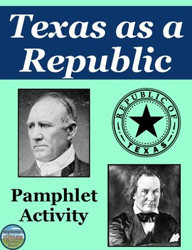 The Republic of Texas Pamphlet Review Activity