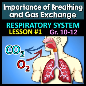 Respiratory System Lesson 1 - PowerPoint, Notes, Quiz & Crossword {EDITABLE}