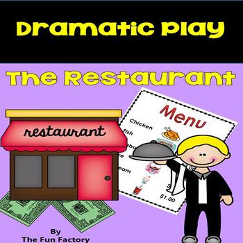Dramatic Play Center ~ The Restaurant