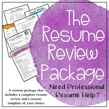 The Resume Review Package