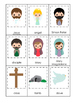 The Resurrection 3 Part Matching Game. Preschool Bible History Curriculum Studie