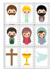 The Resurrection Memory Game. Preschool Bible History Curriculum Study