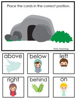The Resurrection Positional Game. Preschool Bible History Curriculum Study