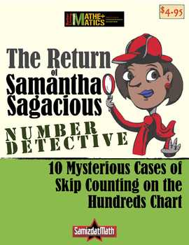 Multiples, Divisors, Skip Counting, Hundreds Chart with Sa