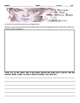 The Return of the Thin White Duke by Neil Gaiman Assignment