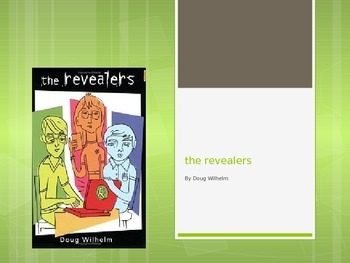 """The Revealers"", A novel study plan"