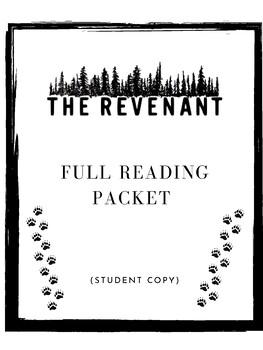 The Revenant Full Packet Student Copy