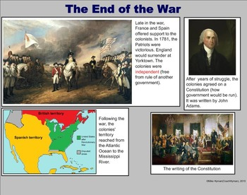 The Revolutionary War - A Fourth Grade SMARTBoard Introduction