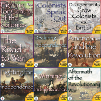 The Revolutionary War Interactive Notebook Mega Bundle