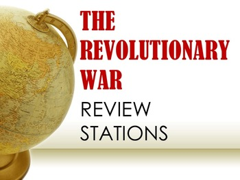 The Revolutionary War Review Stations