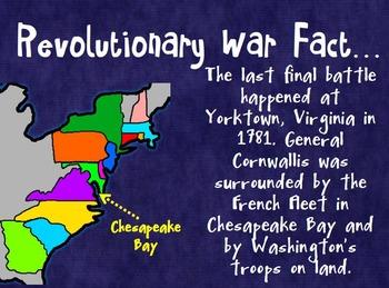 American Revolution Revolutionary War Facts Maps and Statistics