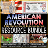 The Revolutionary War and Declaration of Independence Acti