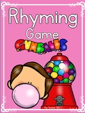 Kindergarten - Special Education- Rhyming Card Game