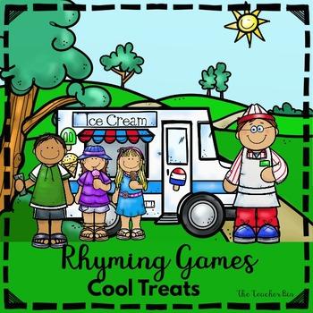 Kindergarten- Special Education - Rhyming Mittens Game