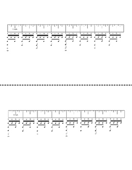 The Rhythm Ruler, Rhythm Teaching Aid