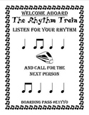 The Rhythm Train Game 1 - Ta & Ti-Ti - Kodaly
