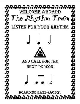 The Rhythm Train Game 3 - Half Note - Kodaly