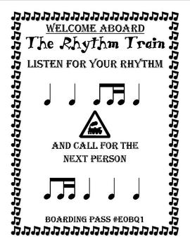 The Rhythm Train Game 5 - Ti-Tika - Kodaly