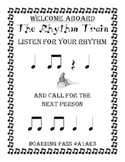 The Rhythm Train Game - Ta, Ti-Ti & Rest - Kodaly