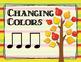 The Rhythm of Life - Fall-themed Rhythm Bulletin Board