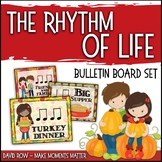 The Rhythm of Life - Fall-themed Rhythm Bulletin Board