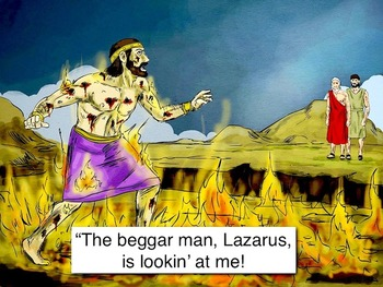 The Rich Man and Lazarus mp4 Video Bible Story from Luke 16