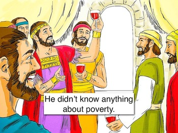 The Rich Man and Lazarus Bible Story from Luke 16 m4v Video