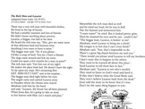 The Rich Man and Lazarus Song - Free Lyrics