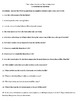 """""""The Richer, the Poorer"""" by Dorothy West - 15 Comprehension Questions with Key"""