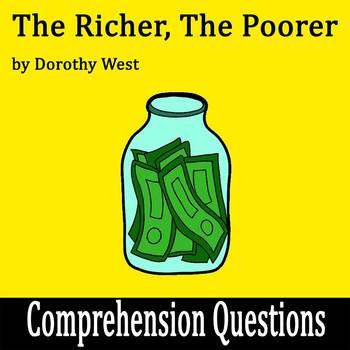 """The Richer, the Poorer"" by Dorothy West - 15 Comprehension Questions with Key"