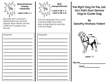 The Right Dog for the Job: Ira's Path from Service Dog to Guide Dog/ Journeys