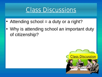 The Rights, Duties, and Responsibilities of Citizenship