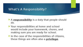 The Rights and Responsibilities of American Citizens - Day 2