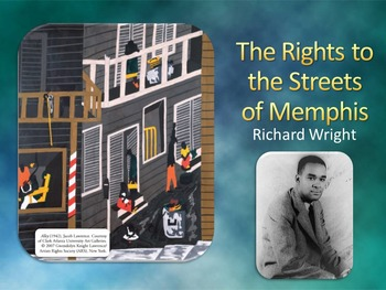 The Rights to the Streets of Memphis 5-Day Lesson Plan (Common Core Aligned)