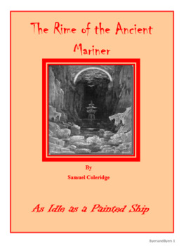 The Rime of the Ancient Mariner All Assessments Bundle