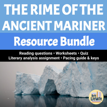 The Rime Of The Ancient Mariner Bundle By Britlitwit Tpt