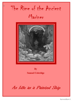 The Rime of the Ancient Mariner Daily Activities Bundle